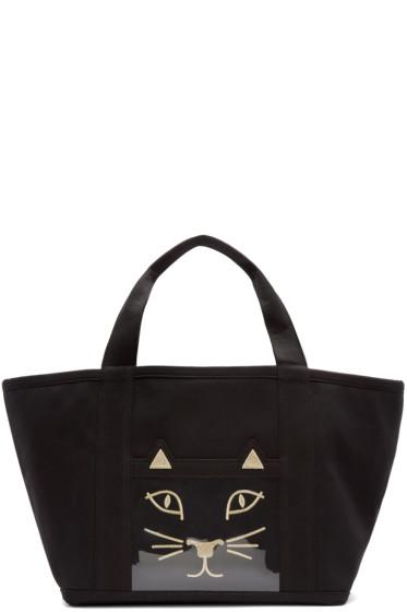 Charlotte Olympia - Black Ami Kitty Tote Bag