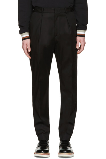 MSGM - Black Basic Trousers