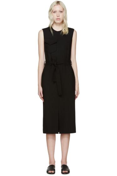 Nina Ricci - Black Wool Belted Dress