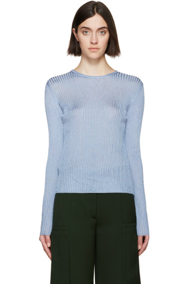 Nina Ricci - Blue Tie Back Pullover