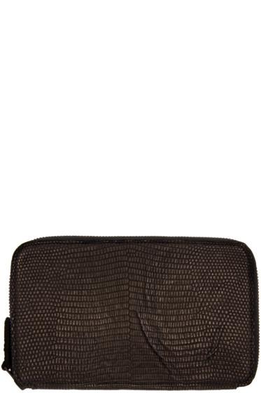 Christian Peau - Black Lizard Wallet