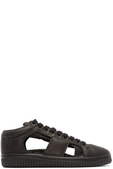Christian Peau - Black Low-Cut Gr-Sk1 Sneakers