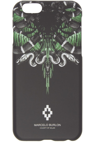 Marcelo Burlon County of Milan - Black Moa iPhone 6 Case
