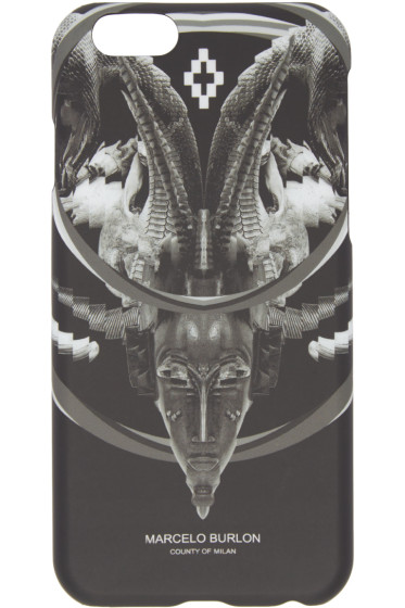 Marcelo Burlon County of Milan - Black Aurora iPhone 6 Case