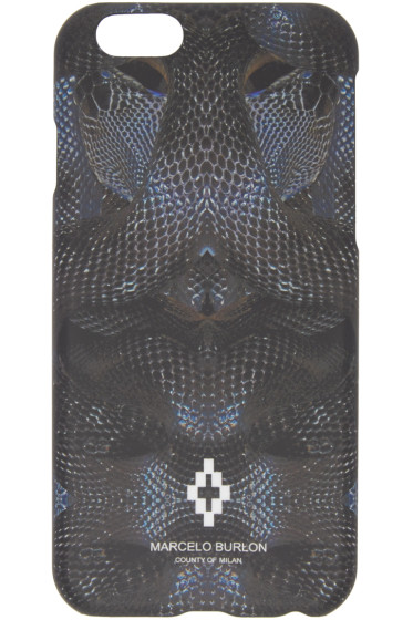 Marcelo Burlon County of Milan - Black Potosi iPhone 6 Case