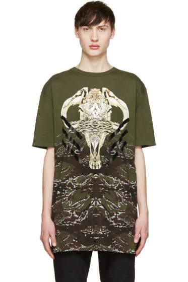 Marcelo Burlon County of Milan - Green Vertientes T-Shirt