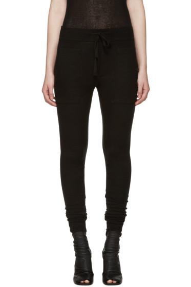 Haider Ackermann - Black Montivipera Lounge Pants