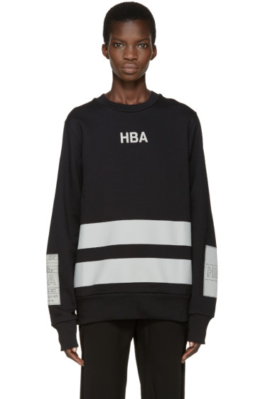 Hood by Air - Black & Grey Jock Boxes Pullover