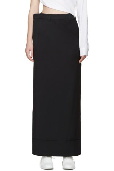 Jacquemus - Navy Wool Skirt