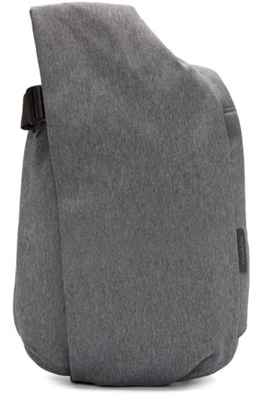 Côte & Ciel - Grey Canvas Isar Backpack