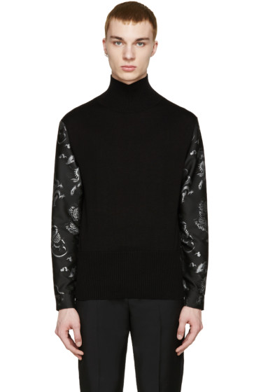 Christian Dada - Black 50s Motorcycle Exchange Sweater