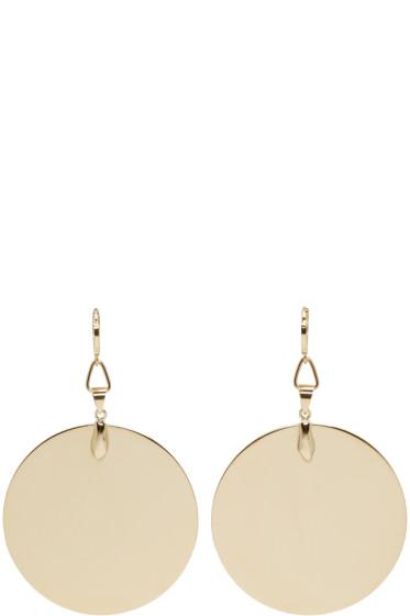 Isabel Marant - Gold Katmandou Disc Earrings