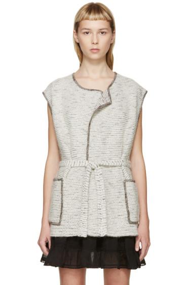 Isabel Marant - White Debs Knit Vest
