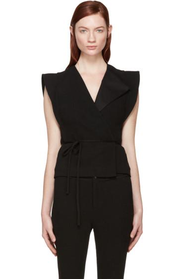 Isabel Marant - Black Linen Fauna Vest