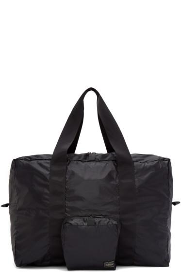 Porter - Black Packable Boston Bag