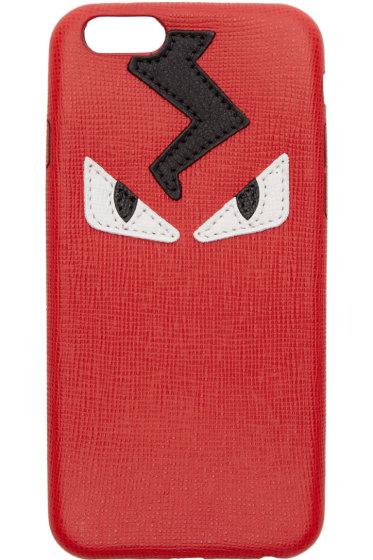 Fendi - Red & Black Monster Eyes iPhone 6 Case