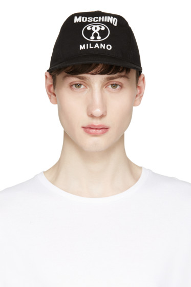 Moschino - Black Logo Cap