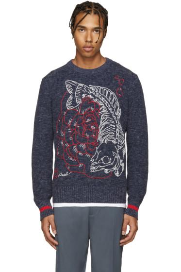 Diesel - Navy K-Novae Sweater