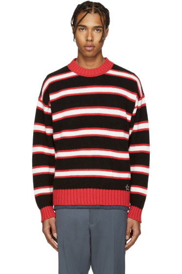 Diesel - Tricolor Striped K-Maximum Sweater