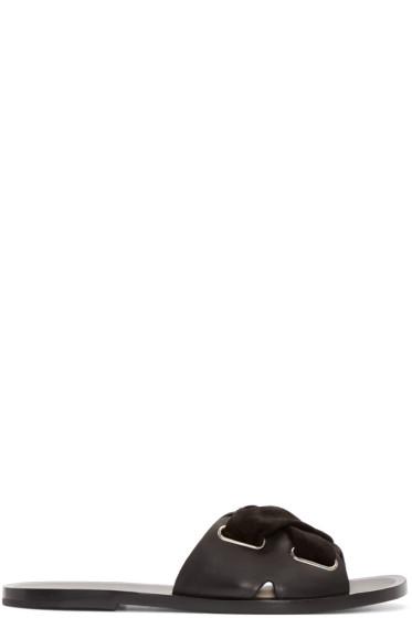 Rag & Bone - Black Leather Nora Sandals
