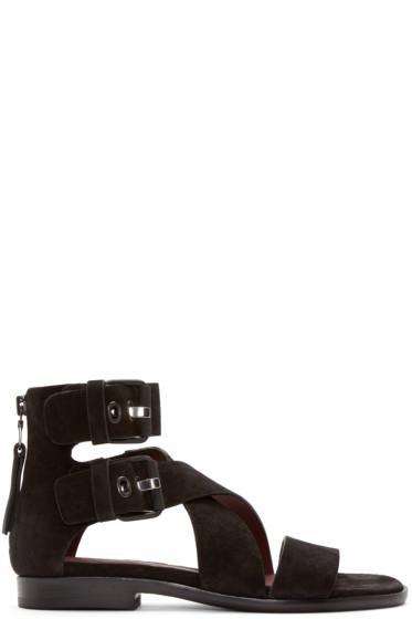 Rag & Bone - Black Suede Madeira Sandals