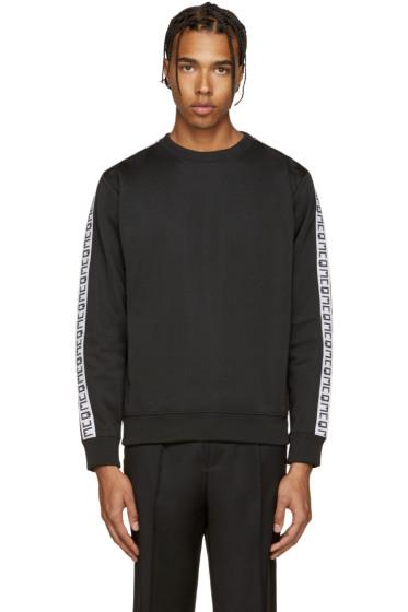 McQ Alexander Mcqueen - Black Tape Sweatshirt