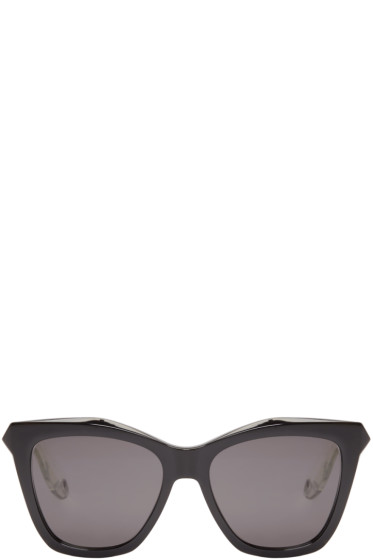 Givenchy - Black Cat-Eye Sunglasses