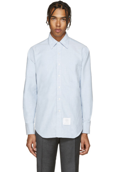Thom Browne - Blue Oxford Shirt
