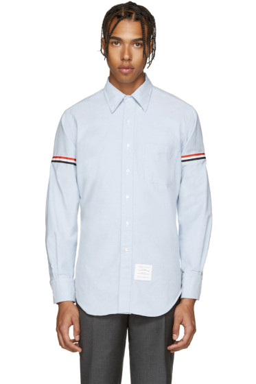 Thom Browne - Blue Armbands Shirt