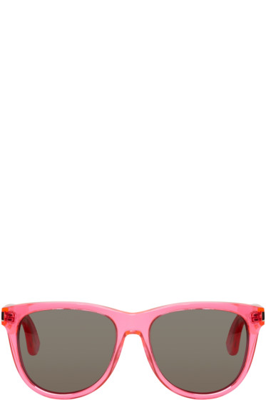 Saint Laurent - Pink SL 101 Surf Sunglasses