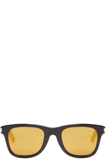 Saint Laurent - Black & Gold SL 51 Surf Sunglasses