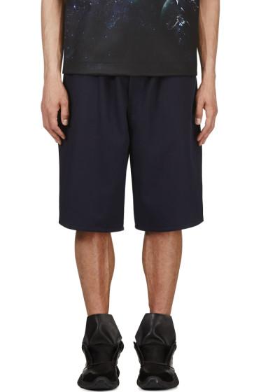Juun.J - SSENSE Exclusive Navy Basketball Shorts