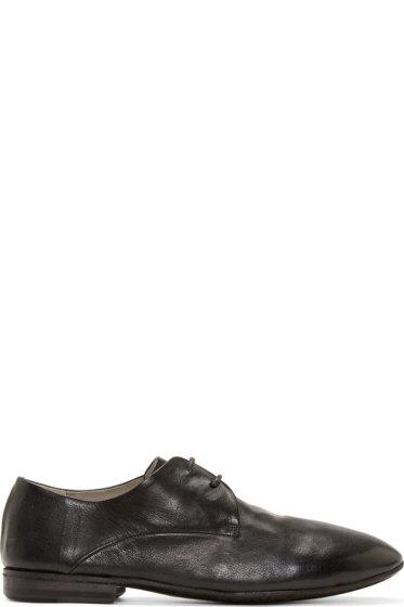 Marsèll - Black Minimalist Derby Shoes
