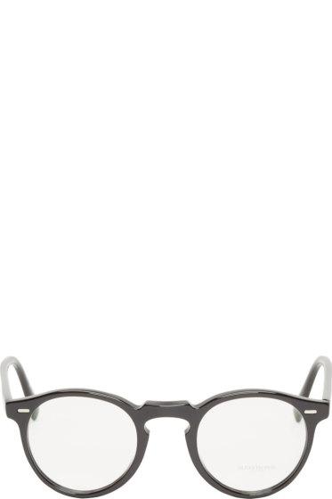 Oliver Peoples - Black Gregory Peck Optical Glasses