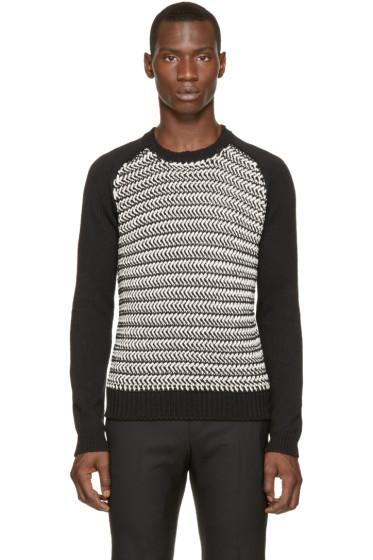 Diesel - Black & White K-Simmons Sweater