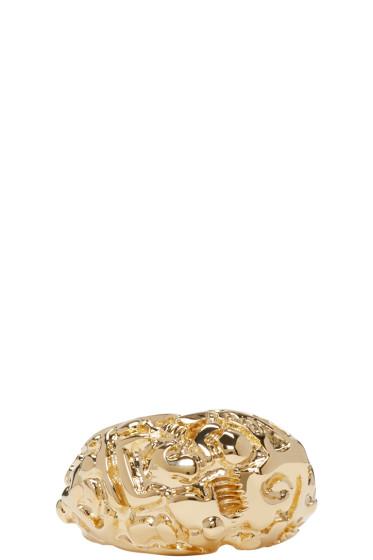 Acne Studios - Gold Marioline Ring