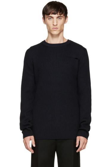 Acne Studios - Navy Wool Julius Sweater
