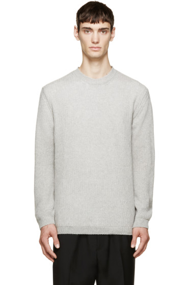 Lanvin - Grey Cashmere Sweater