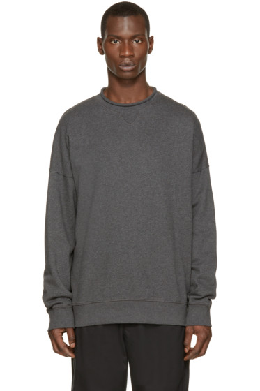 3.1 Phillip Lim -  Grey French Terry Pullover