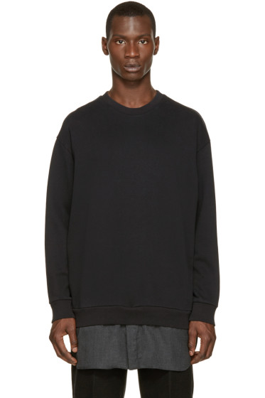 3.1 Phillip Lim - Black Shirttail Pullover