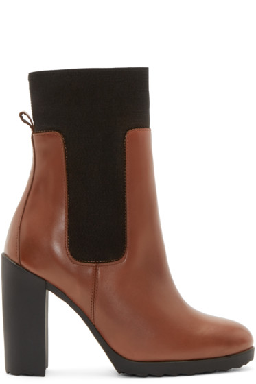 Pierre Hardy - Tan New Casual Ankle Boots