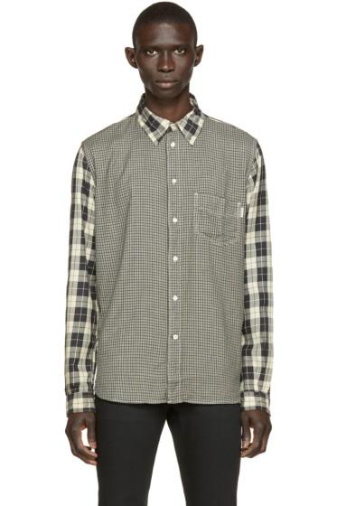 Paul Smith Jeans - Black Plaid & Gingham Shirt