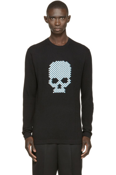 Markus Lupfer - Black Skull Thomas Sweater