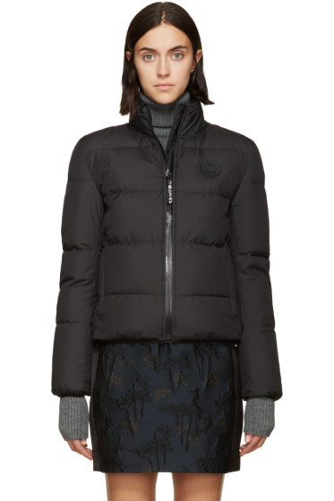 Kenzo - Black Quilted Down Bomber Jacket