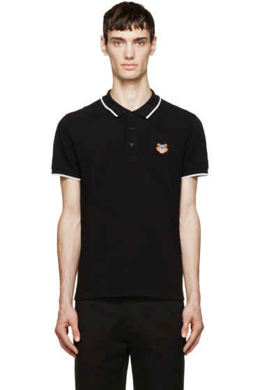 Kenzo - Black Neon Tiger Polo