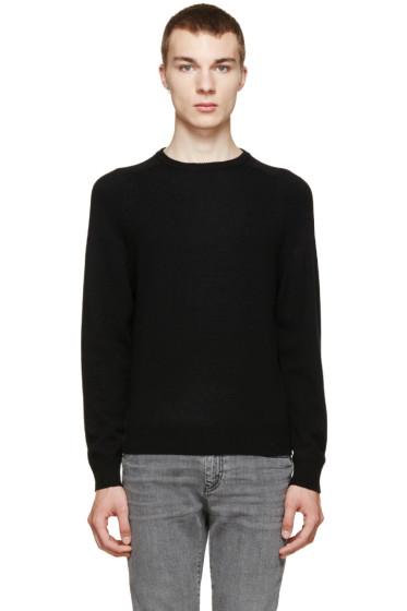 Saint Laurent - Black Cashmere Knit Sweater