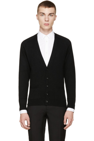 Saint Laurent - Black Cashmere Classic Cardigan