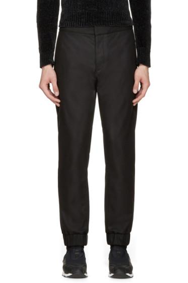 MSGM - Black Wool Trousers