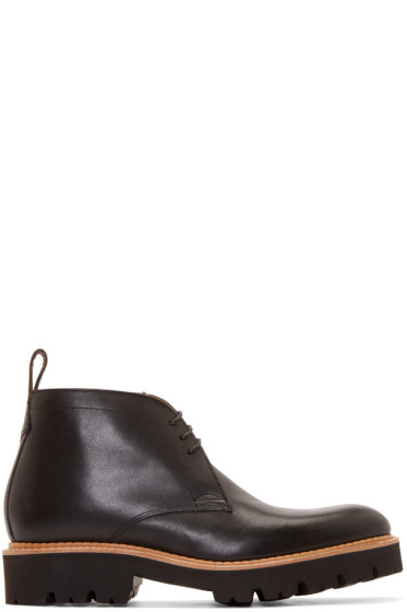 Grenson - Black Leather Marrius Boots