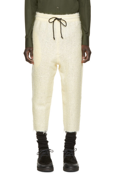 Pigalle - Cream Mohair Trousers